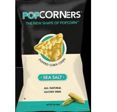 Medora Gluten-Free Popcorners Popped Corn Chips Sea Salt