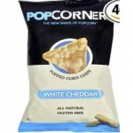 Medora Gluten-Free Popcorners Popped Corn Chips White Cheddar
