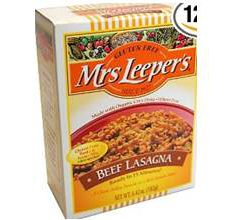 Mrs Leepers Gluten-Free Beef Lasagna Dinner