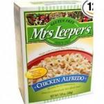 Mrs. Leeper's Gluten-Free Chicken Alfredo Dinner
