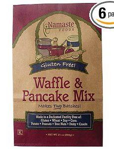 Namaste Gluten-Free Waffle-Pancake Mix