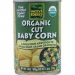 Native Forest Gluten-Free Organic Cut Baby Corn