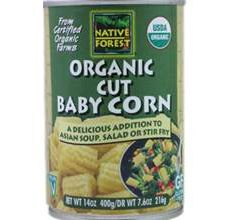 Native Forest Gluten-Free Organic Cut Baby Corn