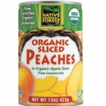 Native Forest Gluten-Free Organic Sliced Peaches
