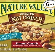 Nature Valley gluten-Free Roasted Nut Crunch Almond Crunch