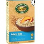 Natures Path Gluten Free Crispy Rice Cereal