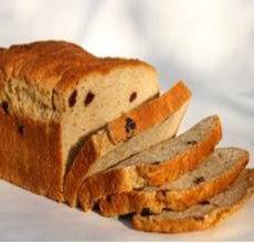 New Grains Gluten-Free Cinnamon Raisin Bread Loaf
