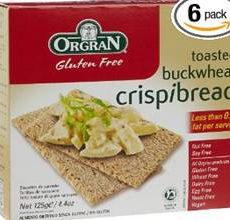OrgraN Gluten-Free Buckwheat Crispibread