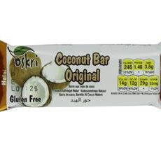 Oskri Gluten-Free Coconut Bar Original