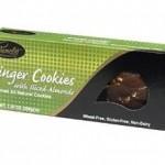 Pamelas Gluten-Free Ginger Cookies With Almonds