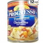 Progresso Gluten-Free Chicken Rice With Vegetables Soup