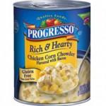 Progresso Gluten-Free Rich Hearty Chicken Corn Chowder Soup