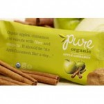 Pure Organic Gluten-Free Apple Cinnamon Bar