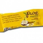 Pure Organic Gluten-Free Banana Coconut Bar