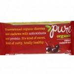 Pure Organic Gluten-Free Cherry Cashew Bar