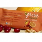 Pure Organic Gluten-Free Cranberry Orange Bar