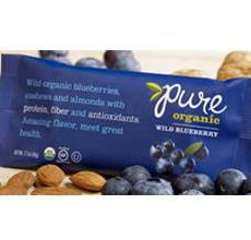 Pure Organic Gluten-Free Wild Blueberry Bar