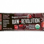 Raw Revolution Organic Cherry Chocolate Chunk Bar