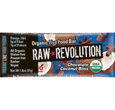 Raw Revolution Organic Chocolate Coconut Bliss Bar