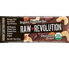 Raw Revolution Organic Chocolate Crave Bar