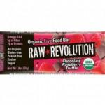 Raw Revolution Organic Chocolate Raspberry Truffel Bar