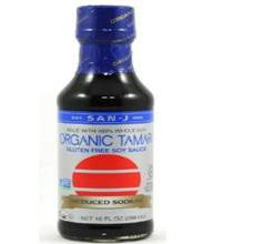 San J Organic Gluten-Free Tamari Soy Sauce