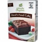 Simply Organic Gluten-Free Devils Food Cake Mix