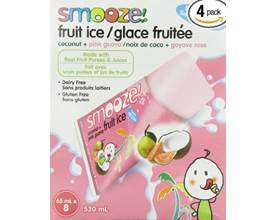 Smooze All Natural Fruit Ice Coconut Pink Guava - Gluten ...