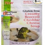 StoreHouse Foods Creamy Broccoli Cheddar Cheese Soup
