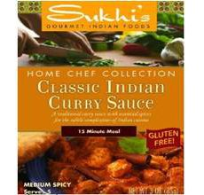 Sukhis Gluten-Free Classic Indian Curry Sauce
