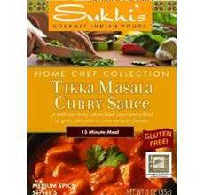 Sukhis Gluten-Free Tikka Masala Curry Sauce