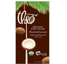 Theo Classics Gluten-Free Dark Chocolate wCoconut