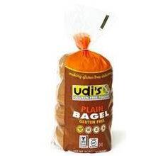 Udis Gluten-Free Bagels Plain