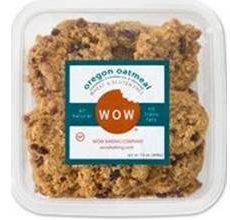 WOW Gluten-Free Oregon Oatmeal Cookies