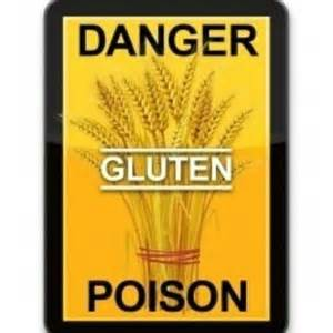 Danger Gluten Poison