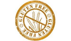 Gluten Free Stamp Over Wheat