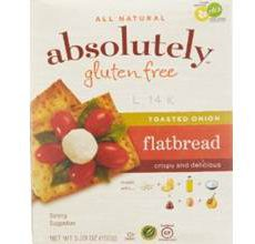 Absolutely Gluten-Free Flatbread Toasted Onion