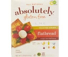 Absolutely Gluten-Free Flatbread Toasted Onion