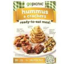 GoPicnic Gluten-Free Hummus - Crackers