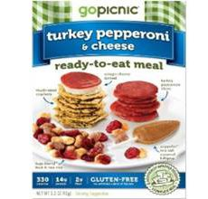 GoPicnic Gluten-Free Turkey Pepperoni Cheese