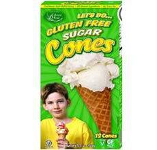 Let's Do Gluten-Free Sugar Cones