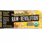 Raw Revolution Organic Gluten-Free Golden Cashew Bar