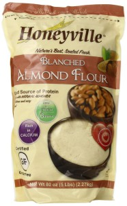 Honeyville Blanched Almond Meal Flour 5 lb Bag Packaged