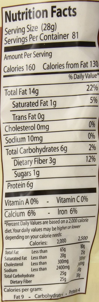Honeyville Blanched Almond Meal Flour Nutrition Facts