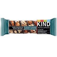 KIND Dark Chocolate Bar Nuts and Sea Salt Bar - Actual Bar