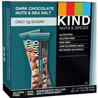 KIND Dark Chocolate Bar Nuts and Sea Salt Bar