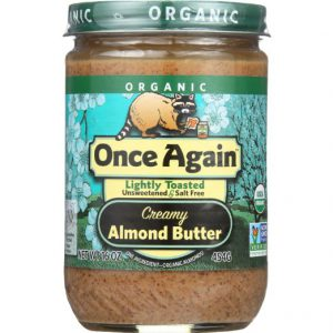 Once Again Organic Smooth Almond Butter