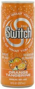 The Switch Fruit Drink Orange Tangerine Flavor