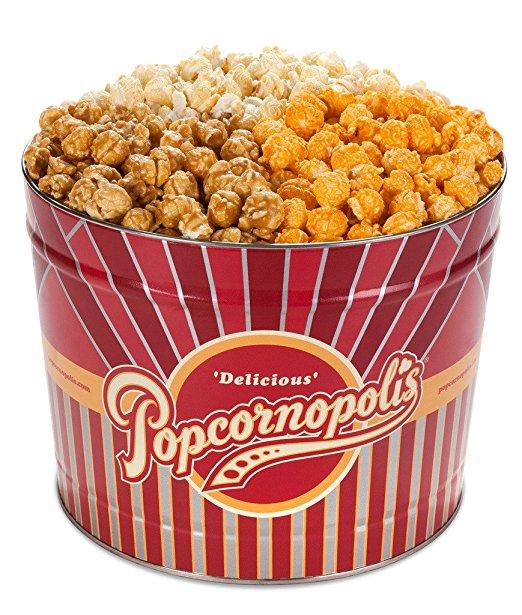 Popcornopolis Gourmet Popcorn 2-Gallon Tin