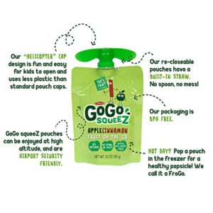 GoGo SqueeZ Pouch Features